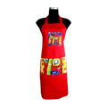 Red Carnival Apron for cooking ideal for men and women