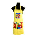yellow Carnival Apron for cooking ideal for men and women