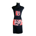 black Carnival Apron for cooking ideal for men and women