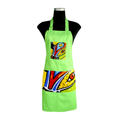 Green Carnival Apron for cooking ideal for men and women