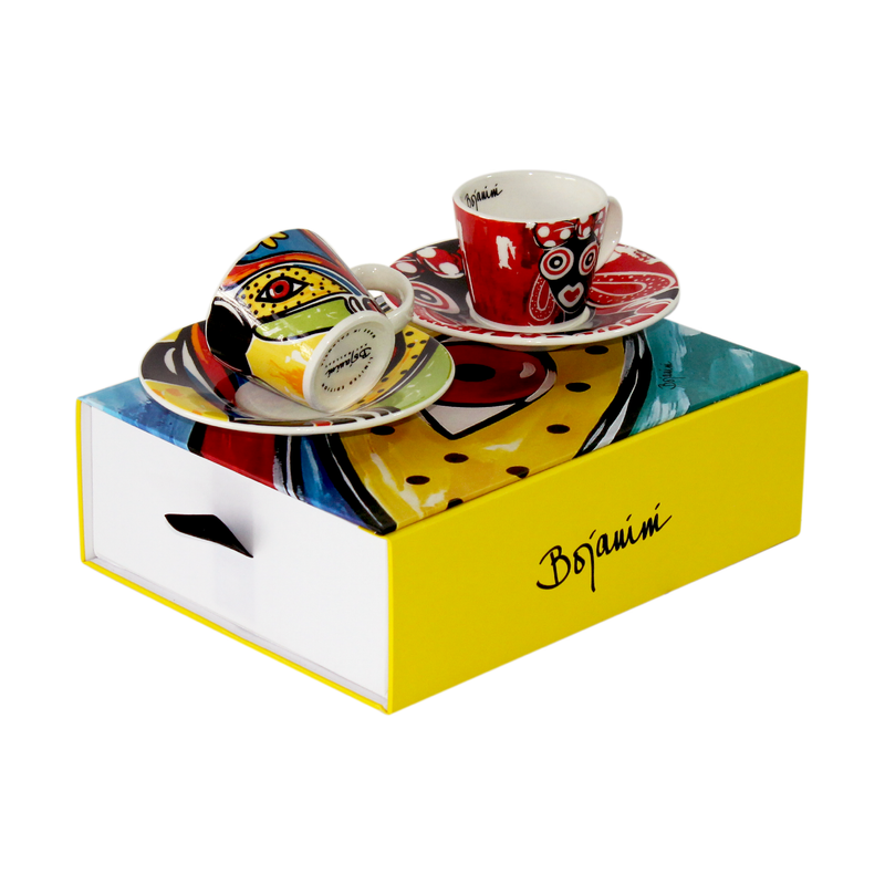 Espresso Set of 2 - Carnival Collection