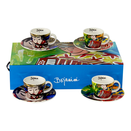 Espresso Set of 4 - Typical Collection