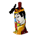 Buy your Colorful Wine Bag with our Guitar Player Design exclusive from our Musicians Collection