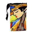 Buy your Colorful Wine Bag with our Bass Player Design exclusive from our Musicians Collection