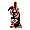 Wine gift bag with la puloy design ideal for wine & music lovers available online