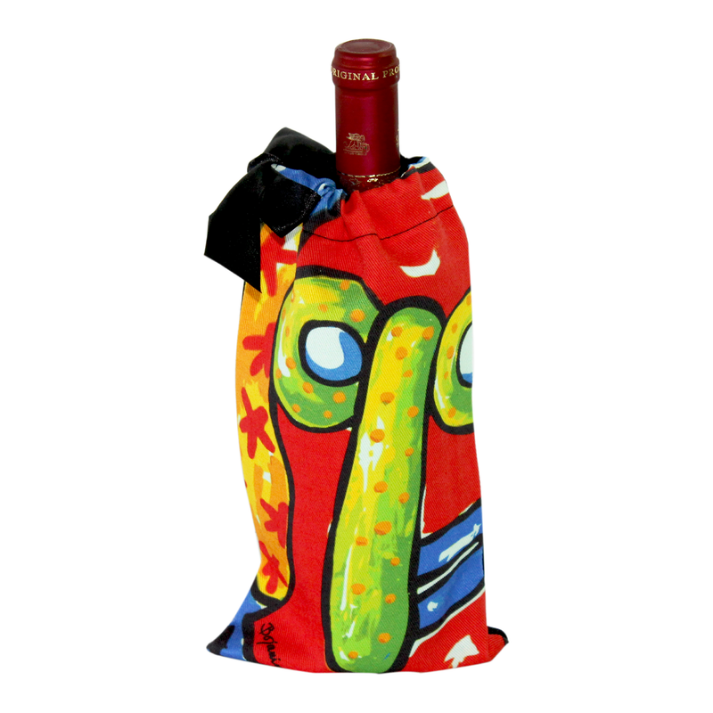 Wine Cotton Bag - La Marimonda