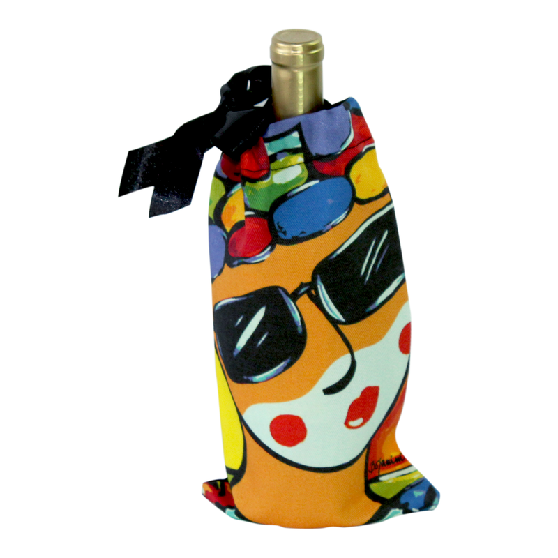 Buy your Carnival Inspired Wine Bag with El congo Design exclusive from our Musicians Collection