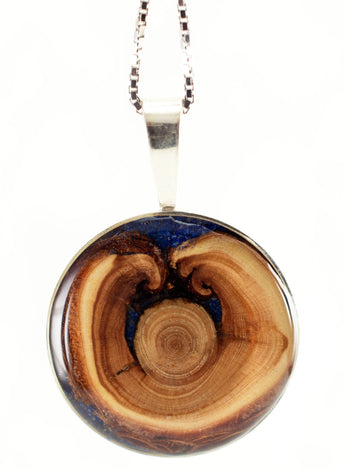 Tree Ring Fire Pendant