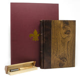 Wooden Journal & Pen Gift Set - Handmade