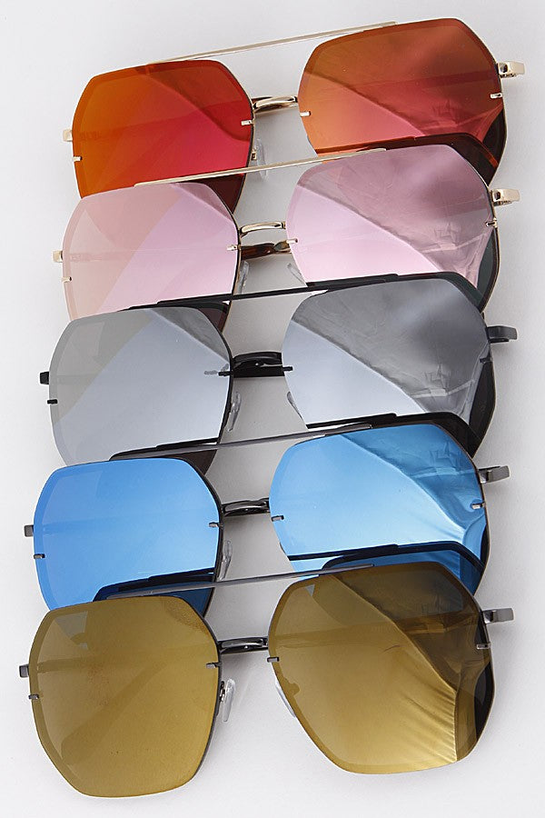 Parker Mirrored Aviators
