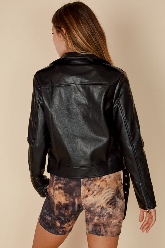 Gigi Pleather Jacket