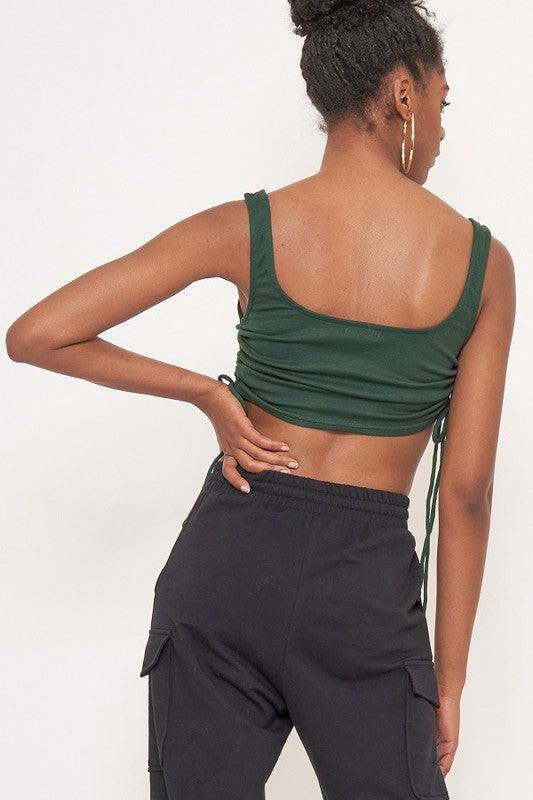 Ruched Lounge Tank