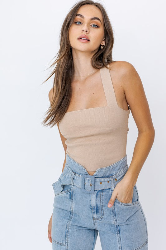 Loren Strappy-Back Top