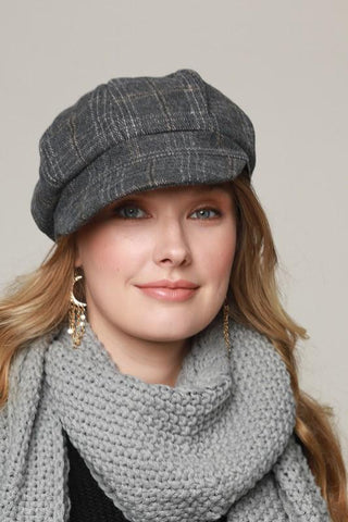 Newsboy Cap Grey