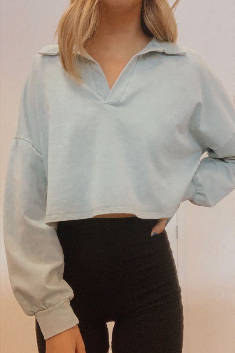 Diana Collared Top