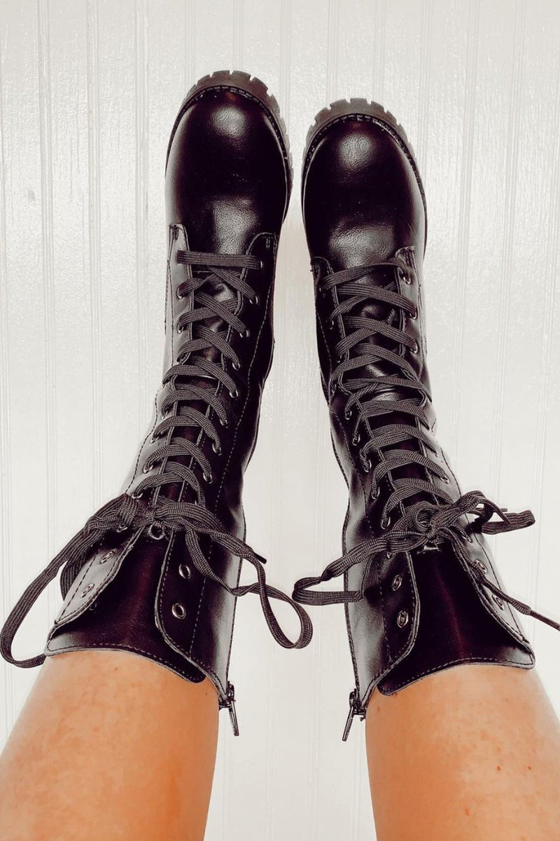 Chief Lace-Up Military Boot