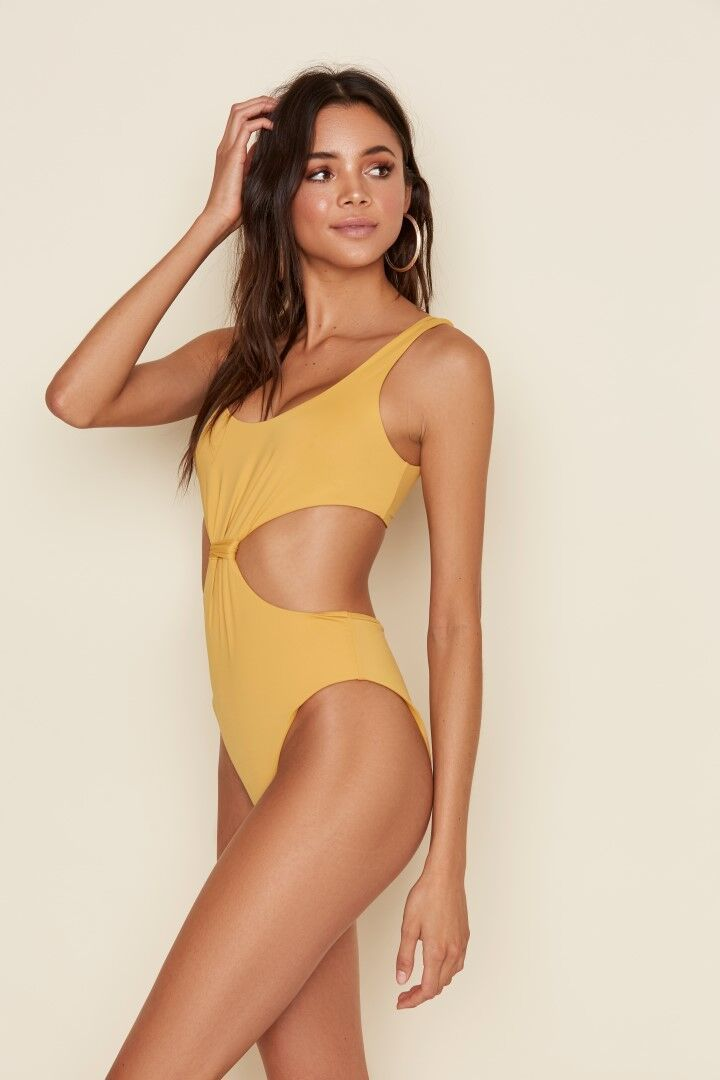 Knotted One-Piece Honey