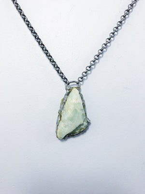 Large Aquamarine Necklace