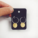 Dial Earrings