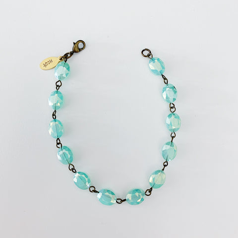 Minty Anklet