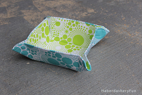 Collapsible Fabric Bowl PDF Pattern