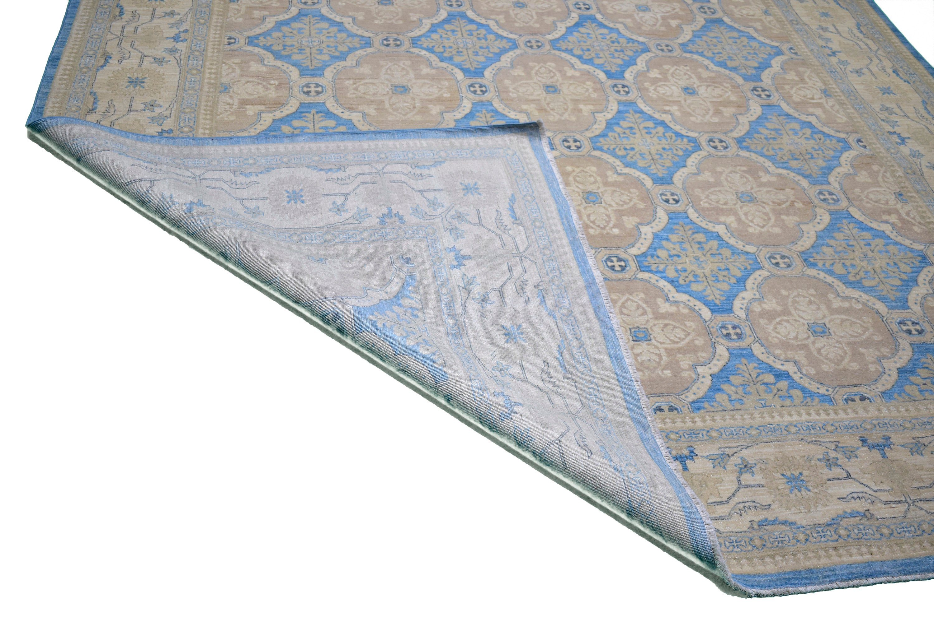 "Handmade Decorative Rug > Design# 014622 > Size: 8'-0"" x 10'-0"""