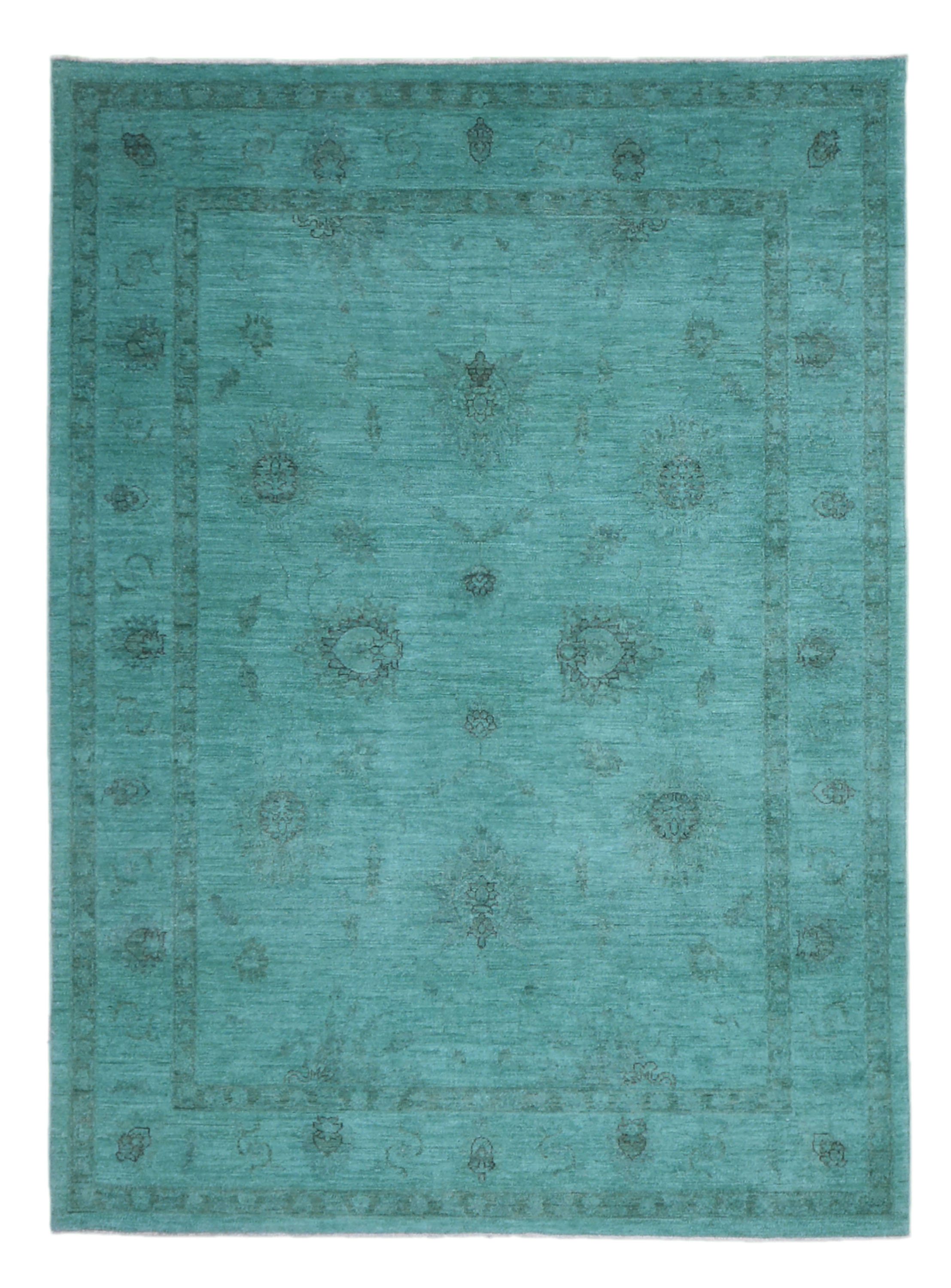 "Afghani Over Dyed Rug > Design # 638 > 5'-7"" X 8'-0"" - Carpet Culture"
