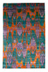 "Saree Silk Rug > Design # 141 > 6'-1"" X 9'-4"""
