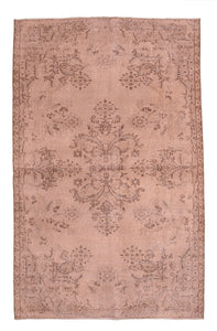 "Turkish Vintage Over Dyed Rug > Design # 634 > 3'-10"" X 6'-4"""