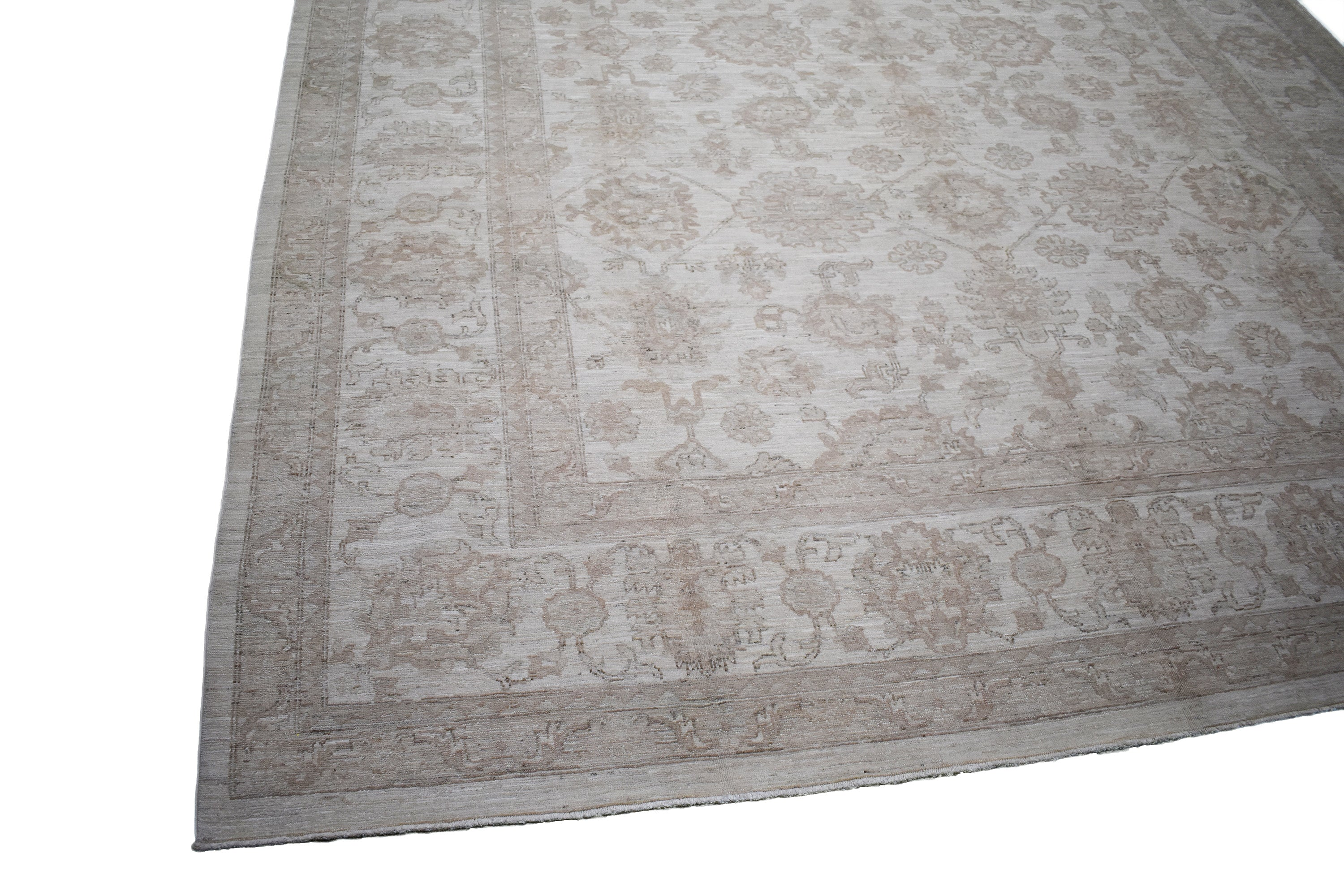 "New Handmade Afghani Wool Rug > Design # 2512 > 9'-1"" X 11'-8"""