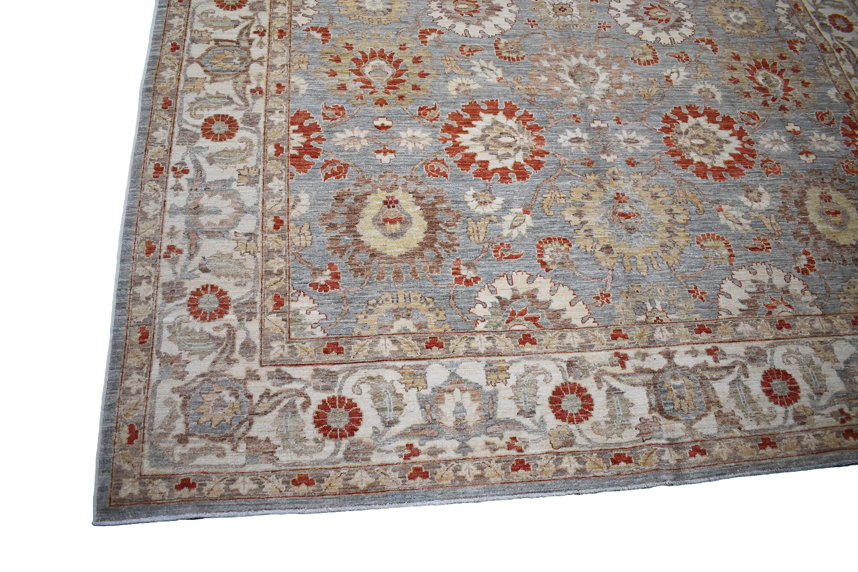 "Afghani Decorative Rug > Design # 481 > 8'-0"" X 11'-5"" - Carpet Culture"