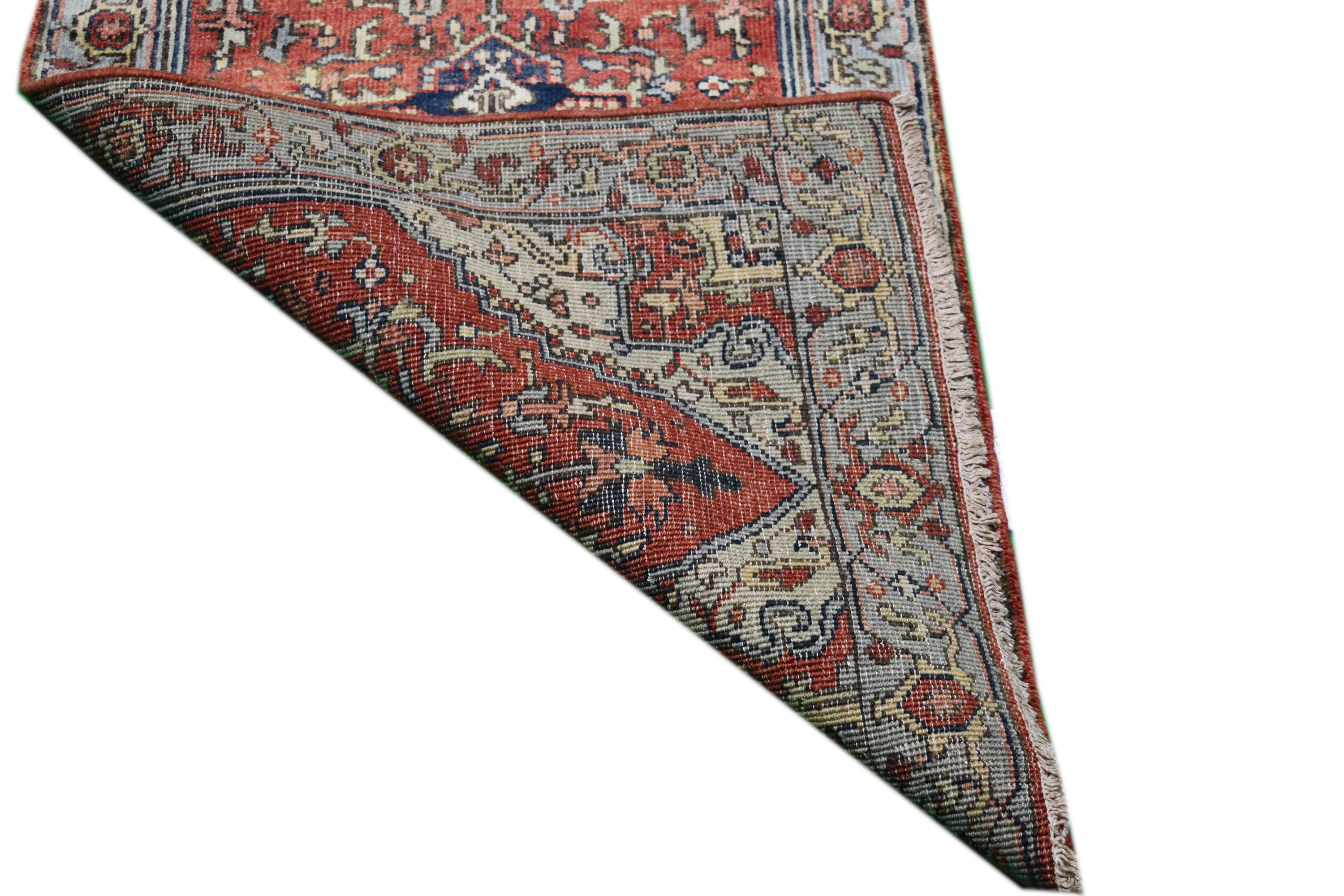 "Handmade New Heriz Runner > Design# 701011 > Size: 2'-6"" X 9'-9"""