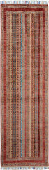 "New Afghani Fine Kazak Runner > Design # 2343 > 2'-6"" X 8'"