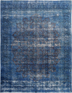 Distressed Minerva Vintage Overdyed Rug S32014