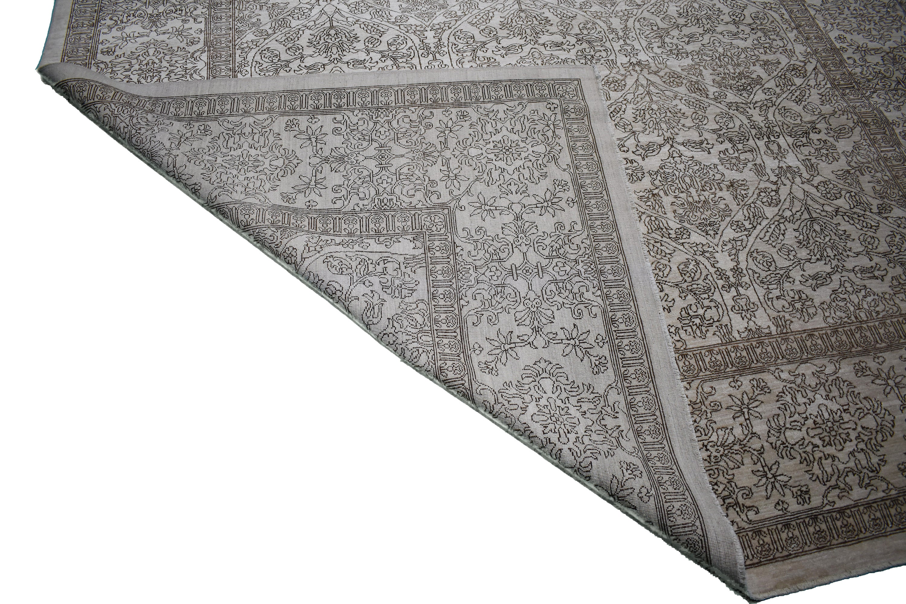 "Handmade Decorative Rug > Design# 011248 > Size: 8'-10"" x 11'-10"""