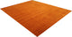 New Handmade Modern Lori Rug - Dark Orange Color