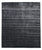New Handmade Modern Anmol Bamboo Silk Rug - Charcoal Color