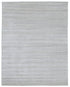 New Handmade Modern Anmol Bamboo Silk Rug - White Color
