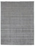 New Handmade Modern Loop-Cut Bamboo Silk & Wool Rug - Grey Color