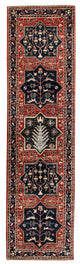 "Hand Knotted Tribal Aryana Rug > Design# 950771 > Size: 2'-5"" x 9'-6"""