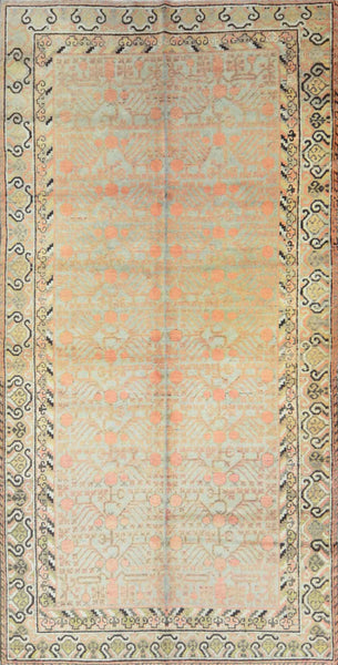 Antique Turkmen Khotan Rug KH-007