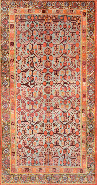 Antique Turkmen Khotan Rug KH-009