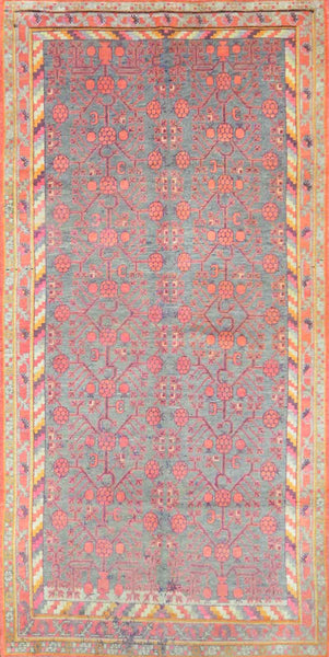 Antique Turkmen Khotan Rug KH-010