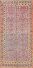 "Antique Turkmen Khotan Rug > Design # 741 > 6'-6"" X 10'-3"""