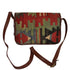 "Turkish Vintage Kilim Bag-B:39 B:39 Size: W: 12"" H: 8"" D: 4"" Drop Length: 21"""