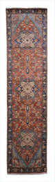 "Handmade New Heriz Runner > Design# 701016 > Size: 2'-6"" X 10'-1"""