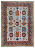 "New Turkmen Esari Rug > Design # 2301 > 9'-11"" X 13'-7"""