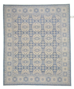 "New Handmade Afghani Wool Rug > Design # 2524 > 8'-1"" X 9'-11"""
