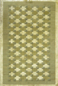Tibbetian Silk And Wool Rug M-045