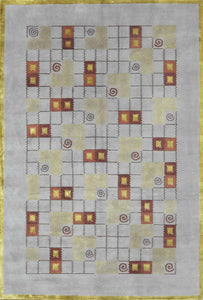 Tibbetian Silk And Wool Rug CC0889